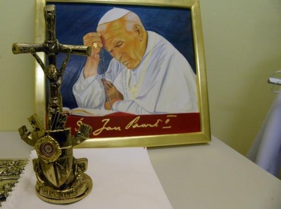 Poświęcenie ikony oraz relikwii św. Jana Pawła II - 11 luty 2020