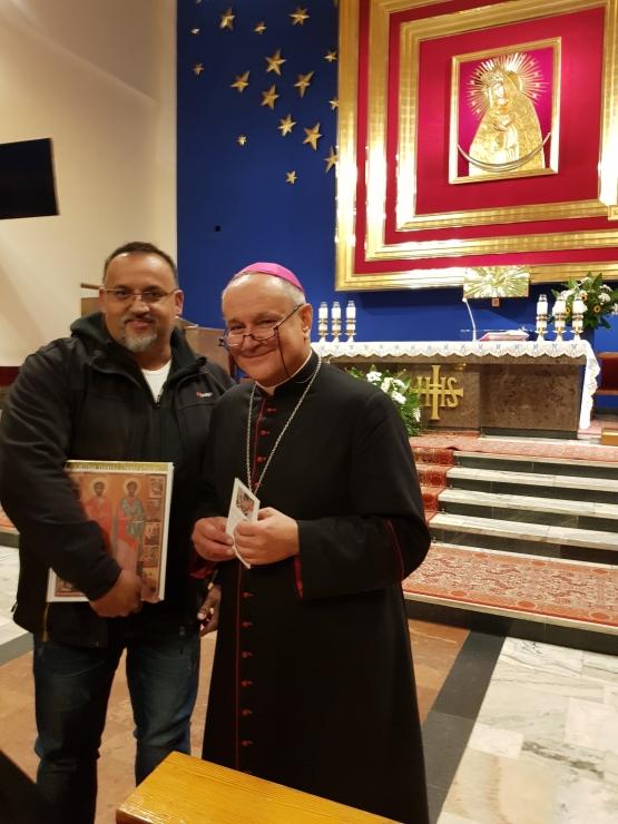 Spotkanie z biskupem Michałem Janochą - październik 2019