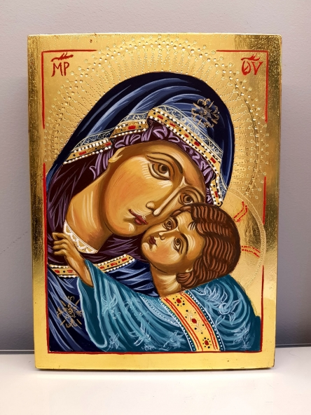 Ikona Matka Boża Umilenie - Eleusa