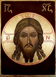 JEZUS  MANDYLION