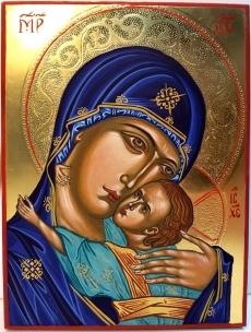 Matka Boża z Dzieciątkiem - Eleusa
