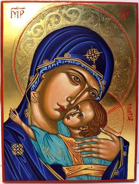 Ikona Matka Boża z Dzieciątkiem - Eleusa