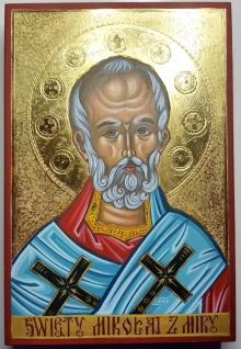 Ikona Św Mikołaj z Miry
