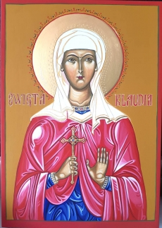 Ikona Święta Klaudia