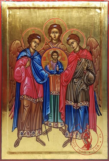 Ikona Trzej Archaniołowie