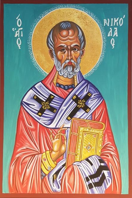 Święty  Mikołaj -ikona