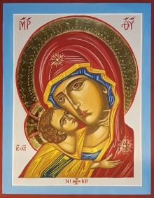 Ikona Matka Boża - Umilenie