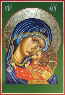 Ikona Matka Boża Czuła - Eleusa