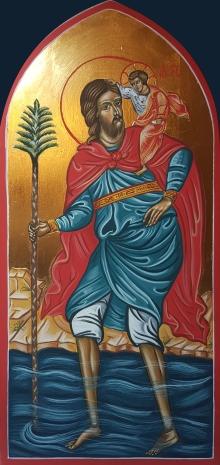 Święty Krzysztof - ikona