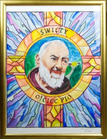 Obraz - Święty Ojciec Pio