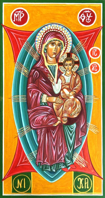 Ikona Matka Boża Hodegetria