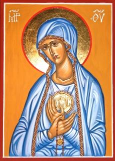 Ikona Matka Boża z Fatimy