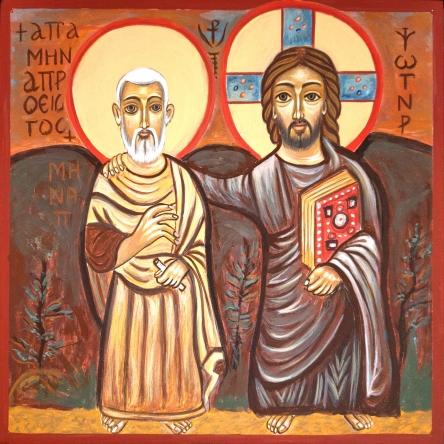 Chrystus i św. Menas